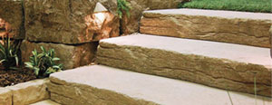 4′ Country Stone Step