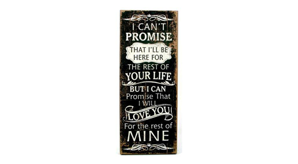 I Can't Promise