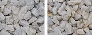 White Dolomite Marble (1/4″ – 1 1/2″)