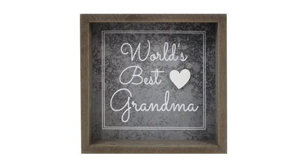 World's Best Grandma Sign