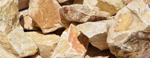 Caramel Cream Marble Boulder