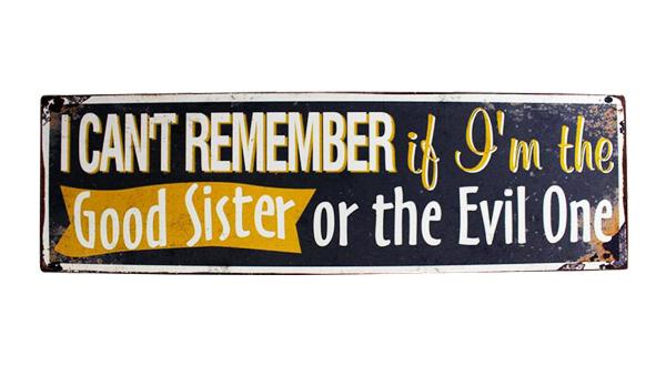 Good or Evil Sister