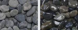 Mexican Beach Pebble – Black