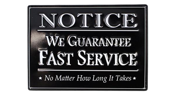 Fast Service