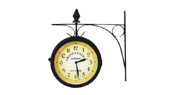 Double Sided Grand Central Outdoor Clock