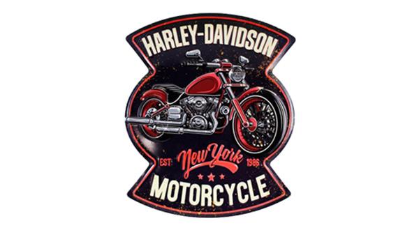 Harley Davidson Steel Sign