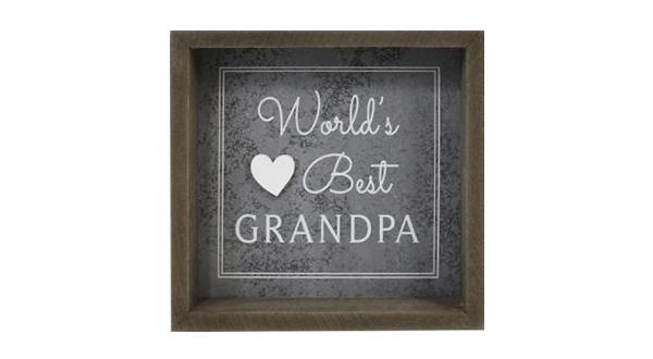 World's Best Grandpa Sign