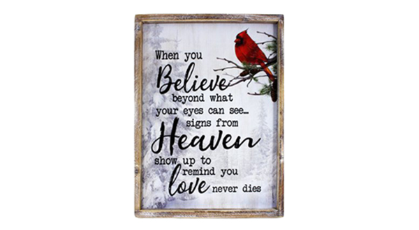 Believe Signs From Heaven