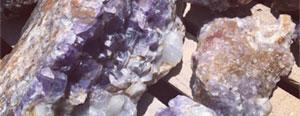 Amethyst Boulders